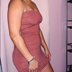 GOING OUT TONIGHT MAUVE DRESS